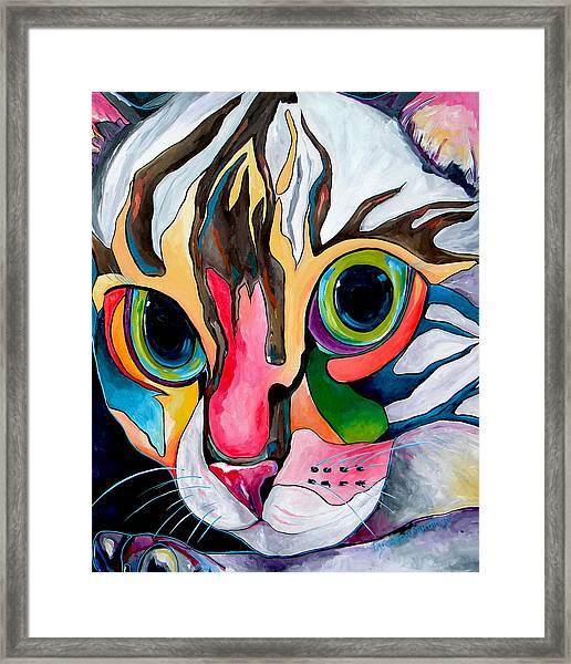 Phoebe Blu Framed Print
