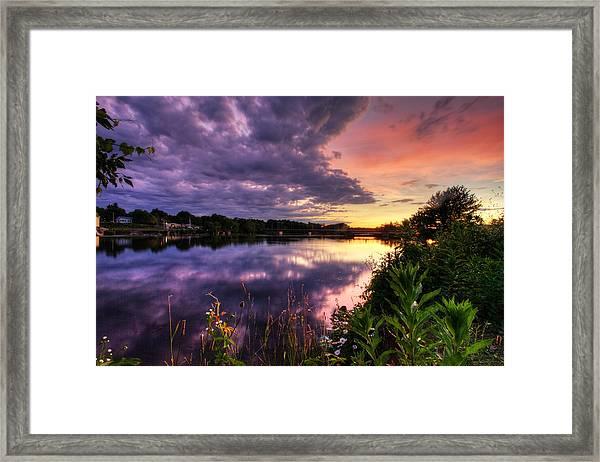 Phoenix Sun Framed Print
