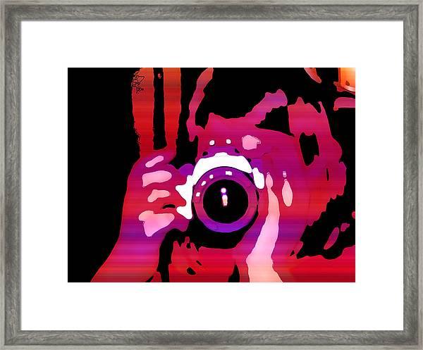 Photograph Me Framed Print