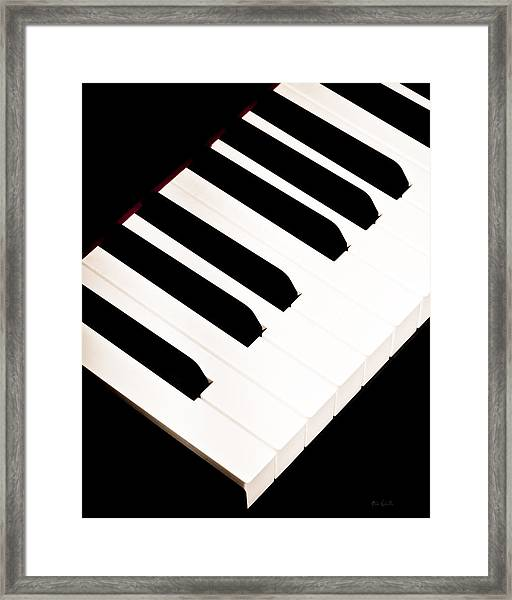Piano Framed Print
