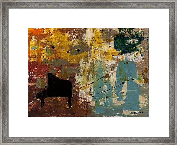 Piano Concerto Framed Print