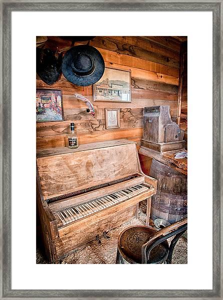 Piano Man Framed Print