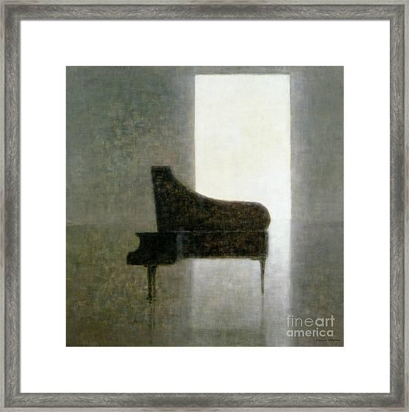 Piano Room 2005 Framed Print