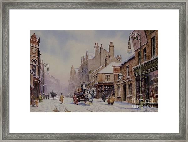 Piccadilly Hanley Framed Print