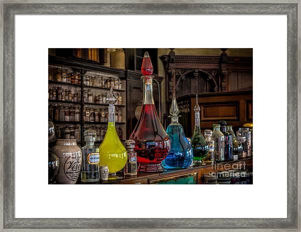 Pick An Elixir Framed Print