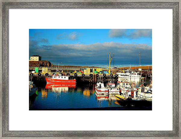 Framed Print featuring the photograph Picturesque Harbour by HweeYen Ong