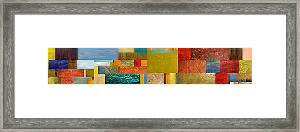 Pieces Project Lv Framed Print