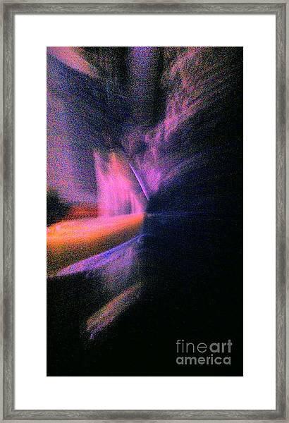 Pierce The Silence Framed Print