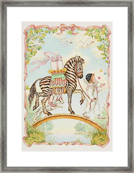 Pierrot Framed Print
