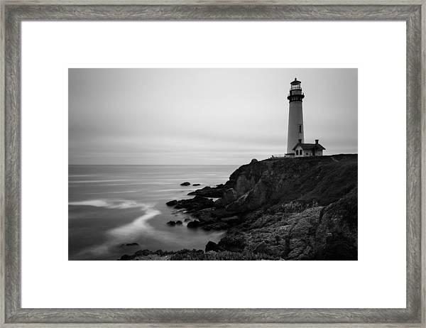 Pigeon Point Framed Print