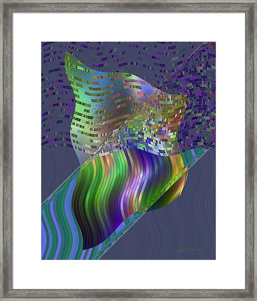 Pillowing Framed Print
