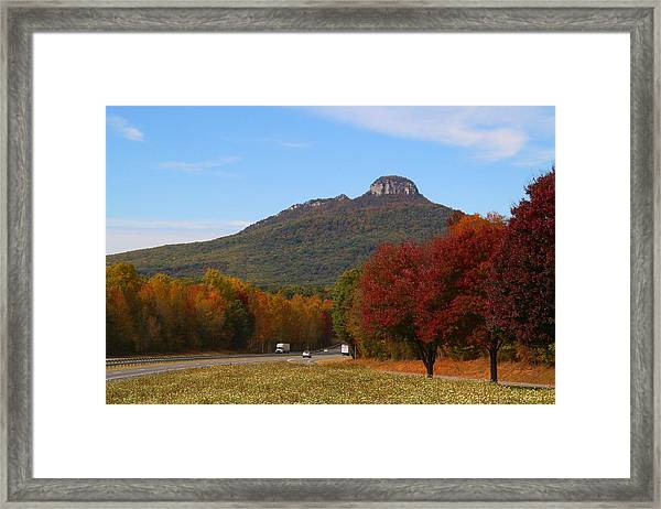 Pilot From Pinnacle Exit Framed Print