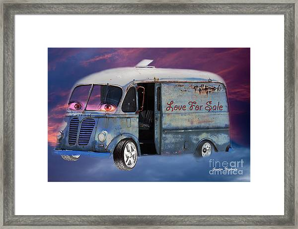 Pin Up Cars - #2 Framed Print