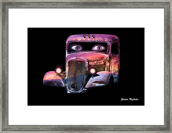 Pin Up Cars - #3 Framed Print