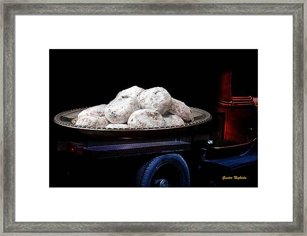 Pin Up Cars - #5 Framed Print