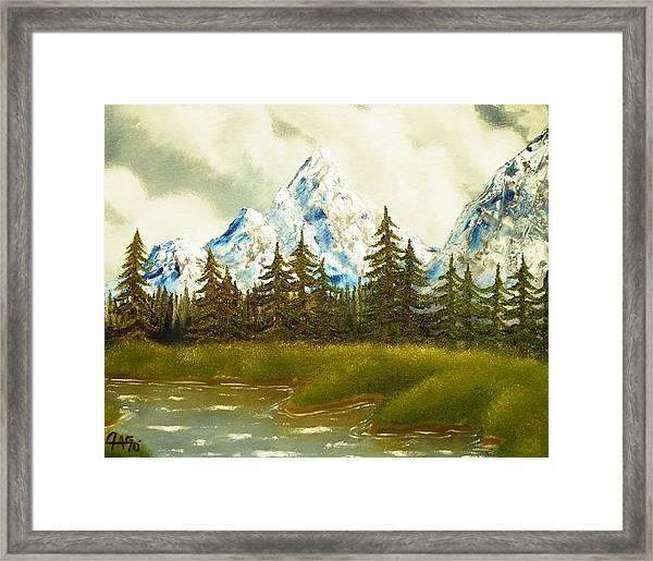 Pine Mountain River Framed Print
