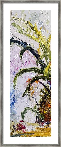 Pineapple Triptych Part 1 Framed Print