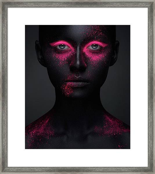 Pink Framed Print by Alex Malikov
