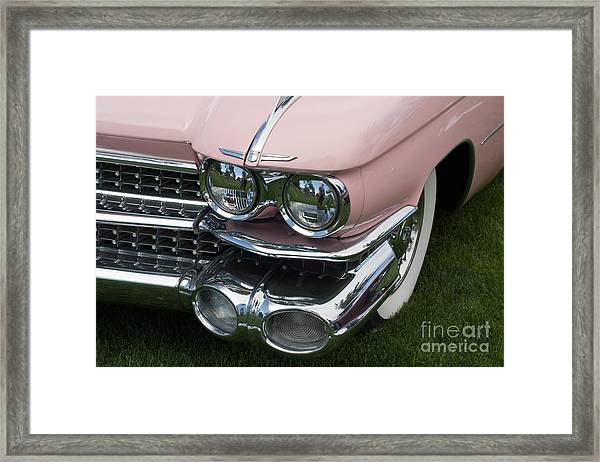 Pink Caddy Framed Print