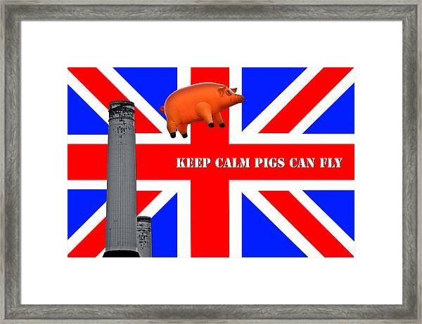 Pink Floyd Pig Framed Print