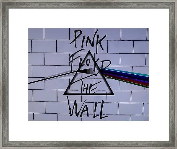 Pink Floyd Poster Framed Print