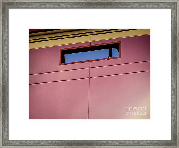Pink Wall The Floyd Framed Print