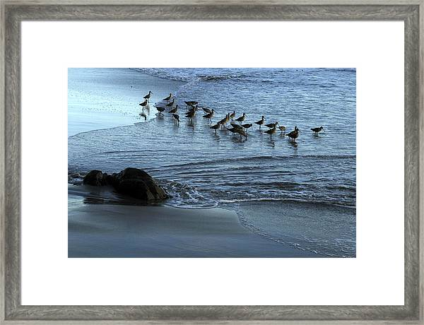 Pipers Framed Print