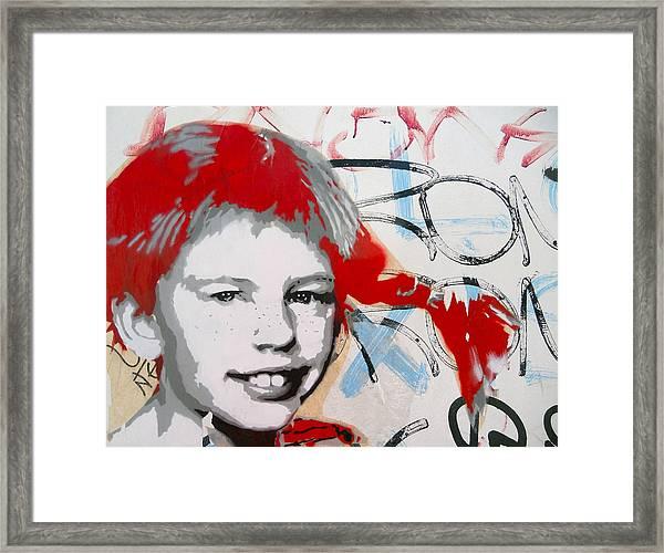 Pippi Longstocking  Framed Print