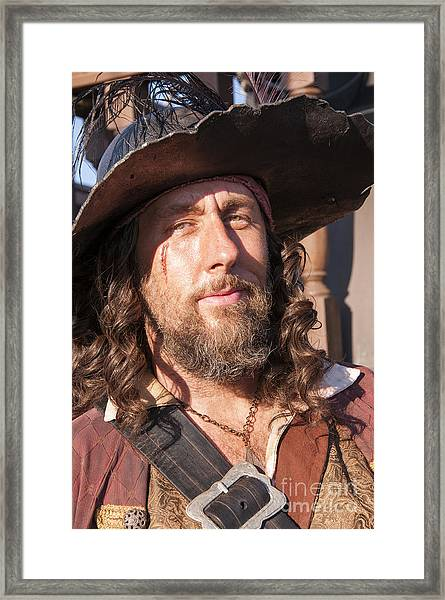 Pirate Captain Framed Print