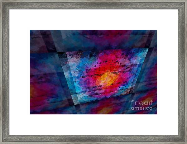 Pitch Space 3 Framed Print