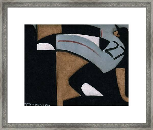 Juan Marichal High Leg Kick  Art Print Framed Print