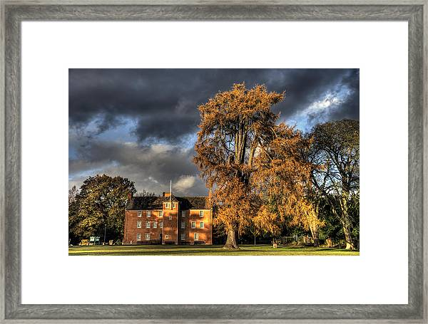 Pittencrieff House Framed Print