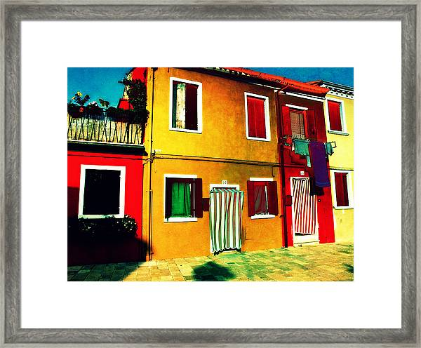 Pittoresco Villaggio Framed Print