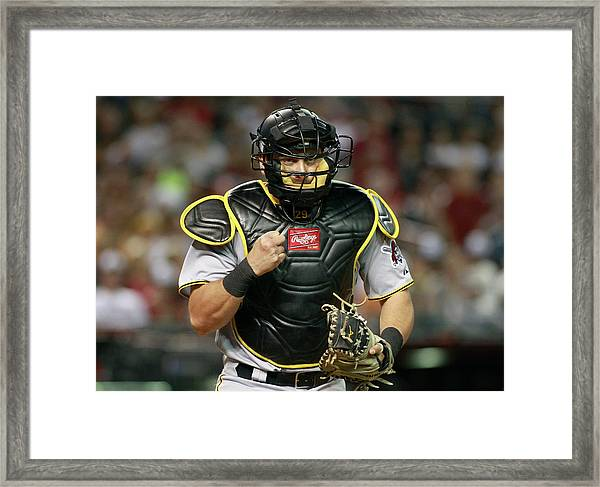 Pittsburgh Pirates V Arizona Framed Print
