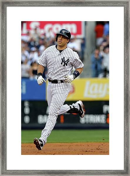 Pittsburgh Pirates V New York Yankees Framed Print