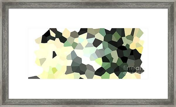 Pixel Money Framed Print