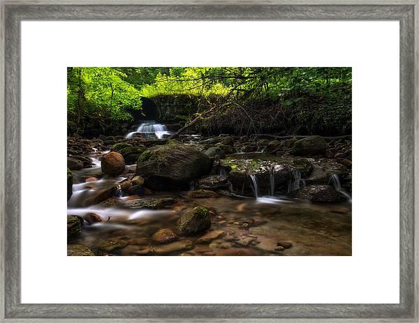 Pixley Falls State Park 2 Framed Print