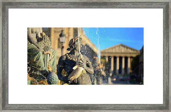Place Of Concorde Framed Print