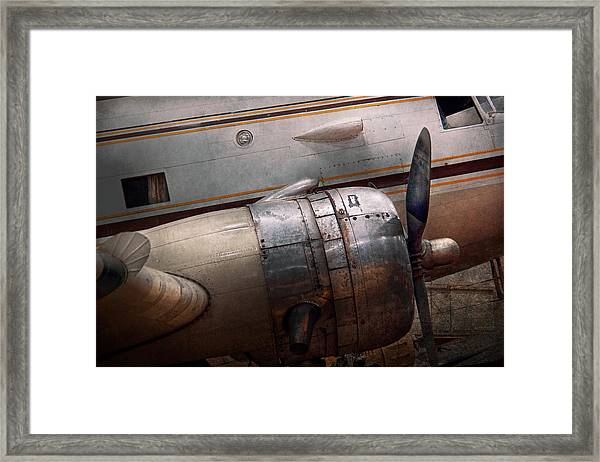 Plane - A Little Rough Around The Edges Framed Print