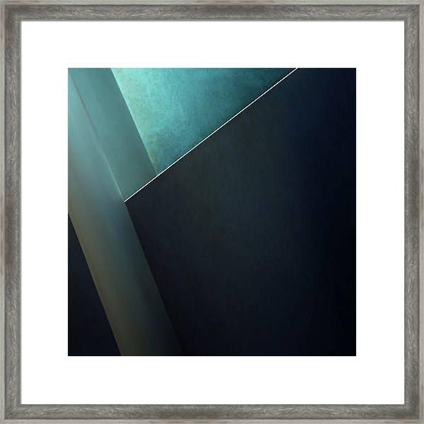 Plane Framed Print by Gilbert Claes