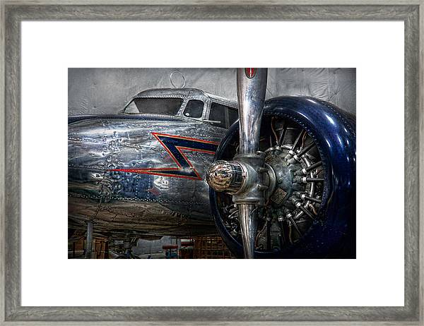 Plane - Hey Fly Boy  Framed Print