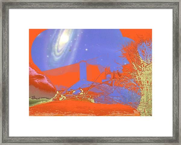 Planet Chuck Framed Print