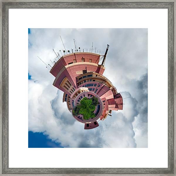 Planet Tripler Framed Print