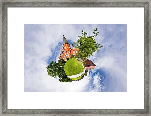 Planet Wsu Framed Print