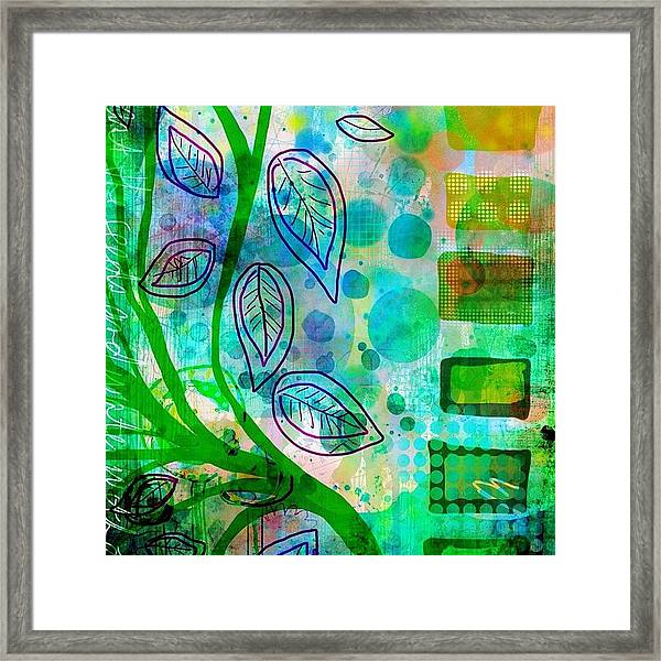 plant The Seeds #ipadart #art Framed Print