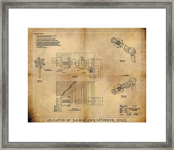 Plasma Gun Framed Print