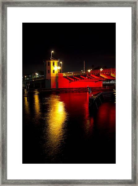 Platt Street Bridge Framed Print