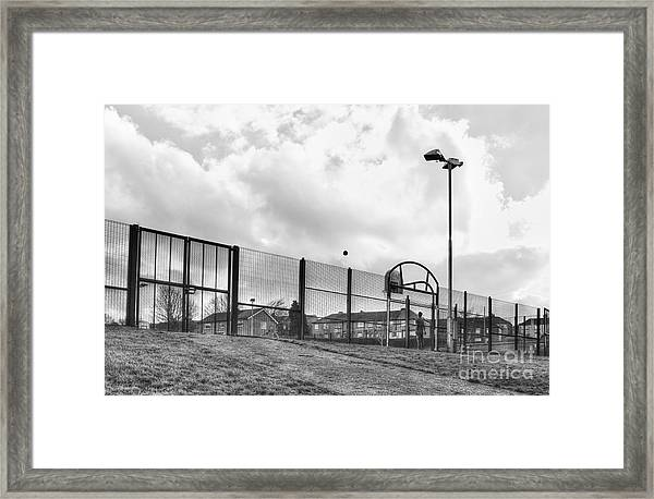 Playing Ball Framed Print