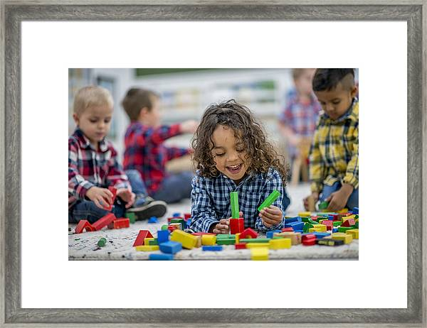 Playtime For Kids Framed Print by FatCamera