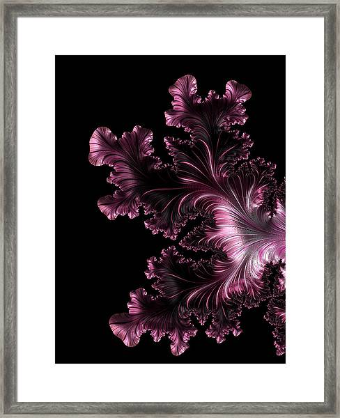 Pleasures Of The Rich Framed Print